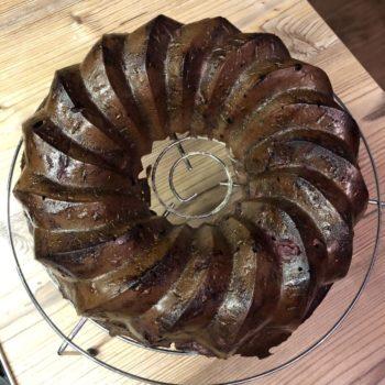 Rezept Saftiger Schoko Kirschkuchen - lowcarb glutenfrei keto