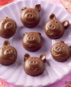 X269-00-Silikomart-SCG35-CHOCO-PIGS-Schweinchen-Silikonform-Pralinenform