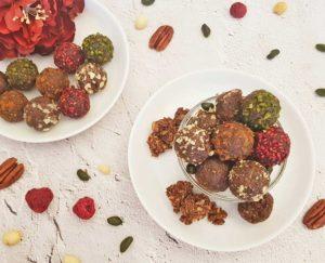 Rezept Müsli Kollagenballs lowcarb glutenfrei keto
