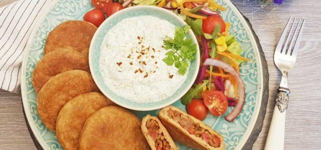 Rezept Gefüllte Marokkanische Pfannenbrotlaibchen lowcarb glutenfrei keto