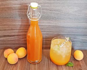 Rezept Karamell Aprikosen Marillen Sirup lowcarb
