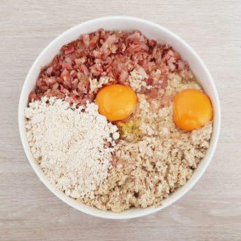 Rezept Champignon Specklaibchen lowcarb glutenfrei
