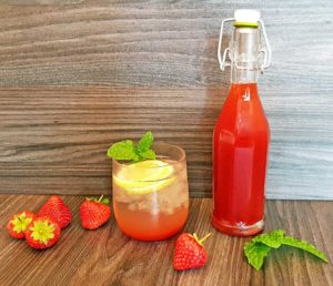Rezept Erdbeer Karamell Sirup lowcarb