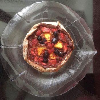 Rezept Galette mit Früchten und Kollagen lowcarb glutenfrei