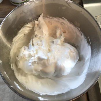 Rezept Apfel Birnen Pavlova lowcarb glutenfrei kalorienarm