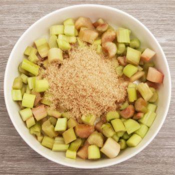 Rezept Rhabarber Karamell Sirup lowcarb
