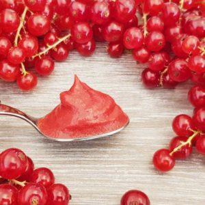 Rezept Johannisbeercreme für Torten, Desserts, Eis, Fluff lowcarb glutenfrei