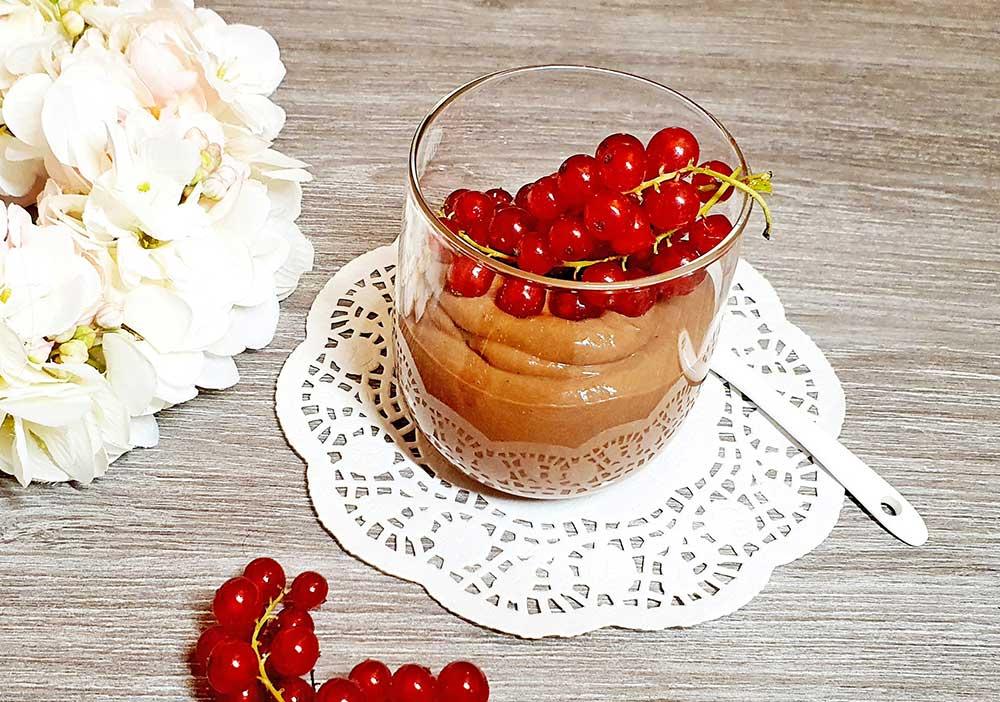 Rezept Schoko Protein Dessert lowcarb glutenfrei keto