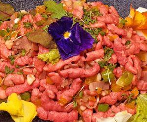 Grundrezept Rote Beete Spätzle lowcarb glutenfrei keto
