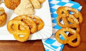 Rezept Knusprige Knabberbrezeln lowcarb glutenfrei keto