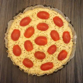 """Rezept Tomatenkuchen """"Schnelle Küche"""" lowcarb glutenfrei keto"""