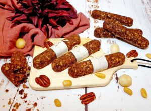 Rezept Müsli Nuss Schokoriegel keto lowcarb glutenfrei