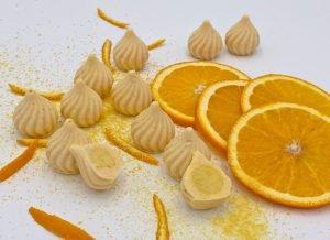 """Grundrezept Schoko-Fruchtpralinen """"Sorte Orange"""" lowcarb keto zuckerfrei"""
