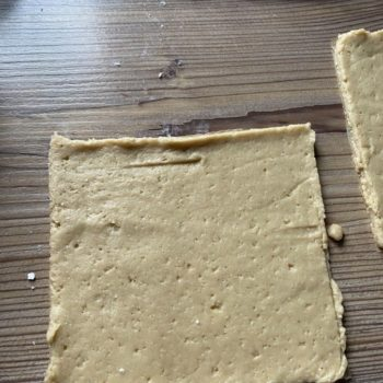 Rezept Pflaumen Pudding Taschen low carb glutenfrei keto