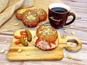 Rezept Erdnussbrötchen lowcarb glutenfrei