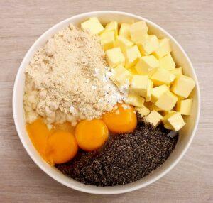 Rezept Eierlikör Mohnradl lowcarb glutenfrei