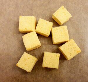Rezept Kokoswürfel - Čupavci lowcarb keto glutenfrei
