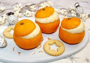Gefüllte Mandarinen lowcarb