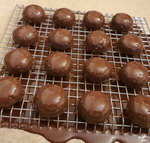 Rezept Beschwipste Pekannusskugeln lowcarb keto glutenfrei