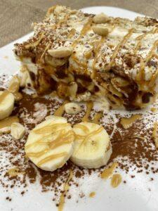 Rezept Bananen Erdnuss Tiramisu lowcarb glutenfrei keto
