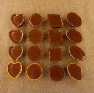 Rezept Erdnuss Schokoladenpralinen lowcarb glutenfrei keto