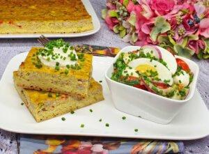 Rezept Curry Chicken Cheesecake lowcarb glutenfrei keto