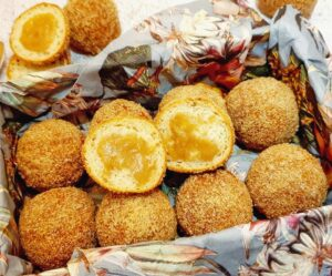 Rezept Apfel Karamell Krapfenbälle lowcarb glutenfrei keto