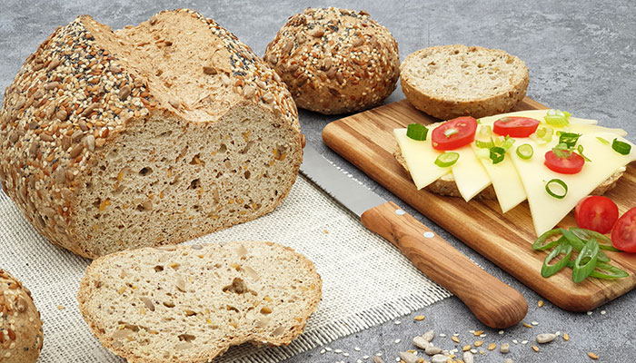 Dr. Almond-Brote sind glutenfrei mit natürlichen Zutaten.