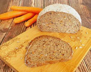 Rezept Karottenbrot lowcarb glutenfrei keto