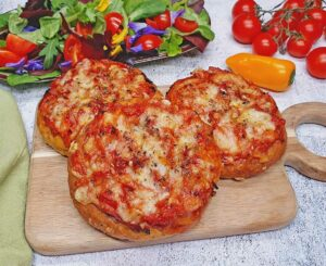 Rezept Pizzabrötchen lowcarb keto glutenfrei