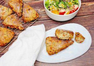 Rezept Pizzaecken lowcarb keto glutenfrei