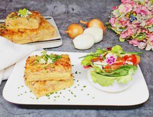 Rezept Zwiebelkuchen lowcarb glutenfrei keto