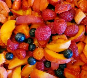 Rezept Frucht Kollagen Gazpacho mit Buttermilch lowcarb glutenfrei