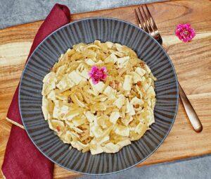 Rezept Krautfleckerl lowcarb keto glutenfrei