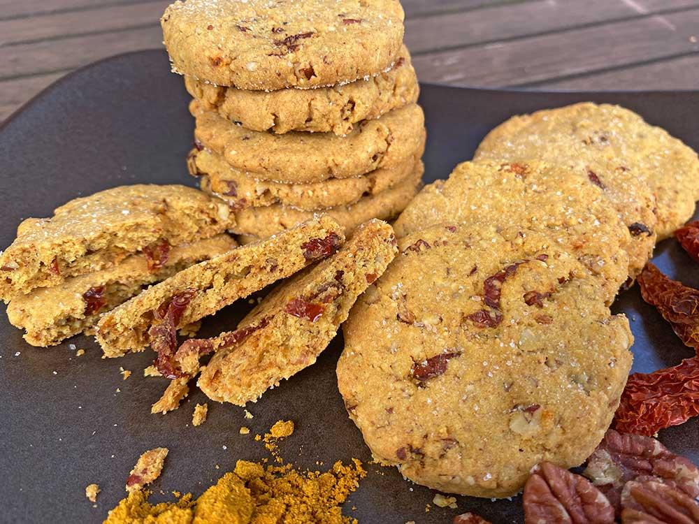 Rezept Würzige Cookies mit Ras el Hanout lowcarb keto glutenfrei