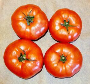Rezept Gefüllte Backrohr Tomaten mit Tomatenjoghurt lowcarb keto glutenfrei
