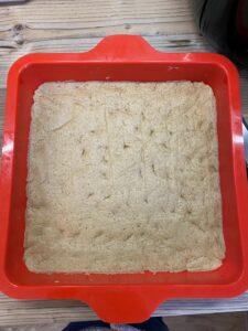 Rezept Pflaumenkuchen mit Pudding und Schmand lowcarb glutenfrei