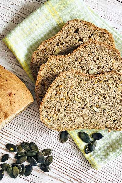 Brotbackmischungen lowcarb keto