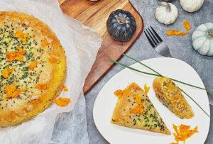 Rezept Ricotta Kürbis Hackfleischkuchen lowcarb keto glutenfrei